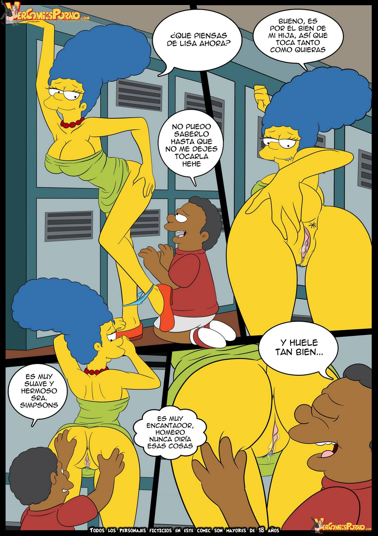 Cartoon porno Fotos Simpsons Naked anale porno