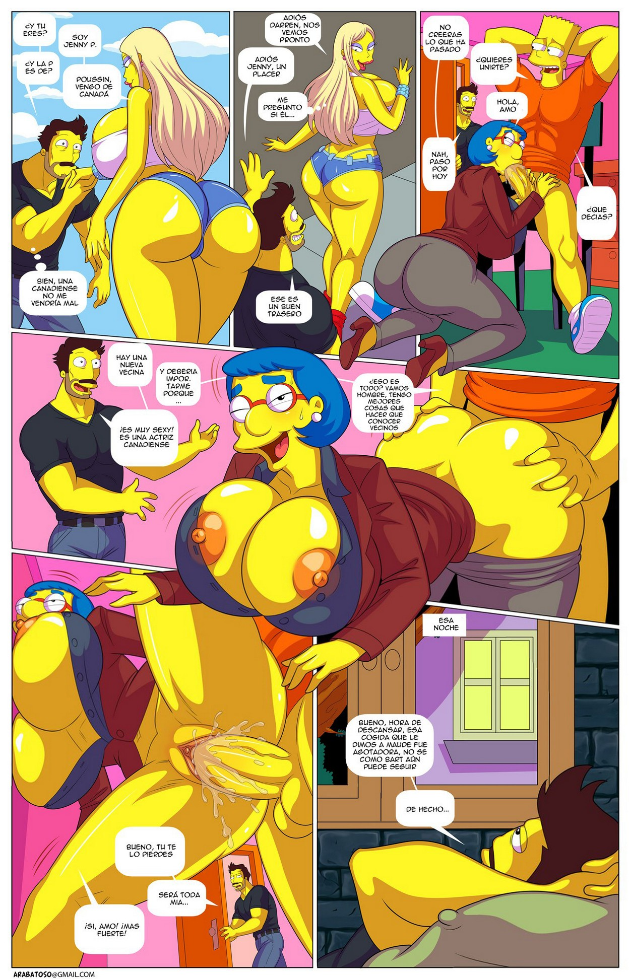 Hardcore Simpsons porno