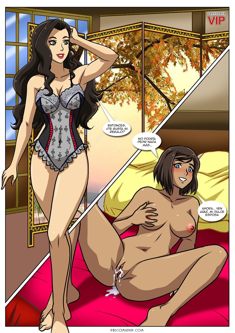 Avatar Porno xxx Korra y Asami Follando