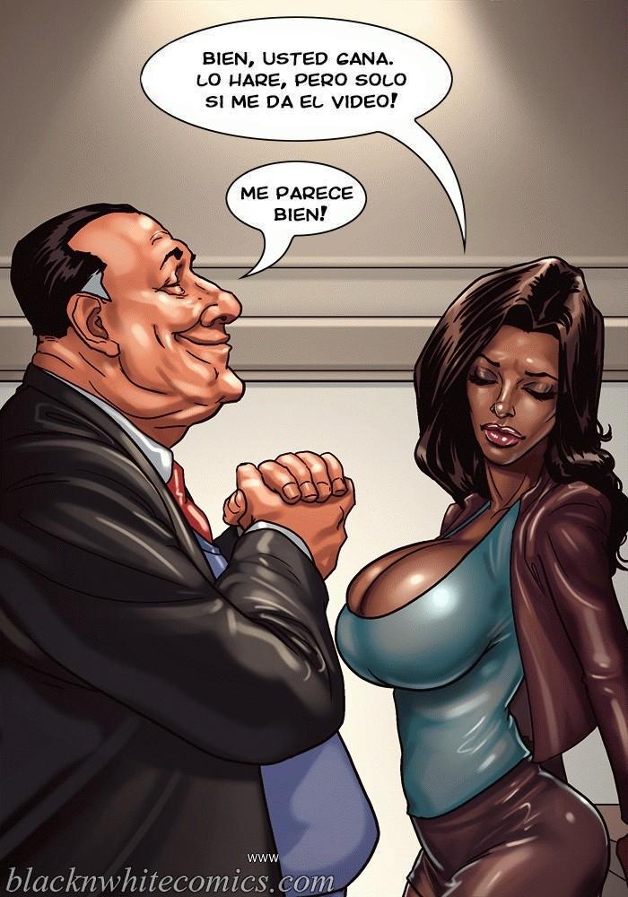 interracial cartoon porno pic