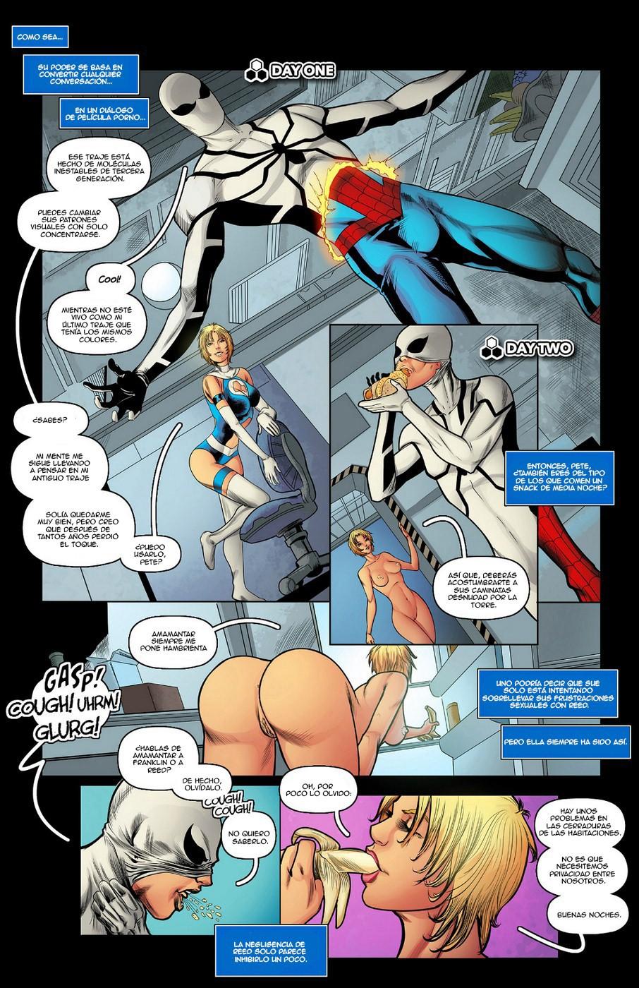 Amamantando A Un Hombre Porno xxx marvel porno sexo superheroes future foundation