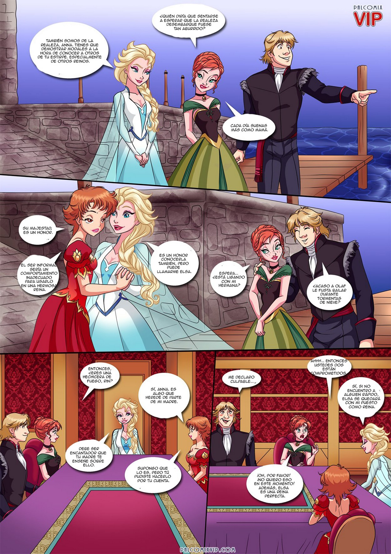cartoon porno di Frozen