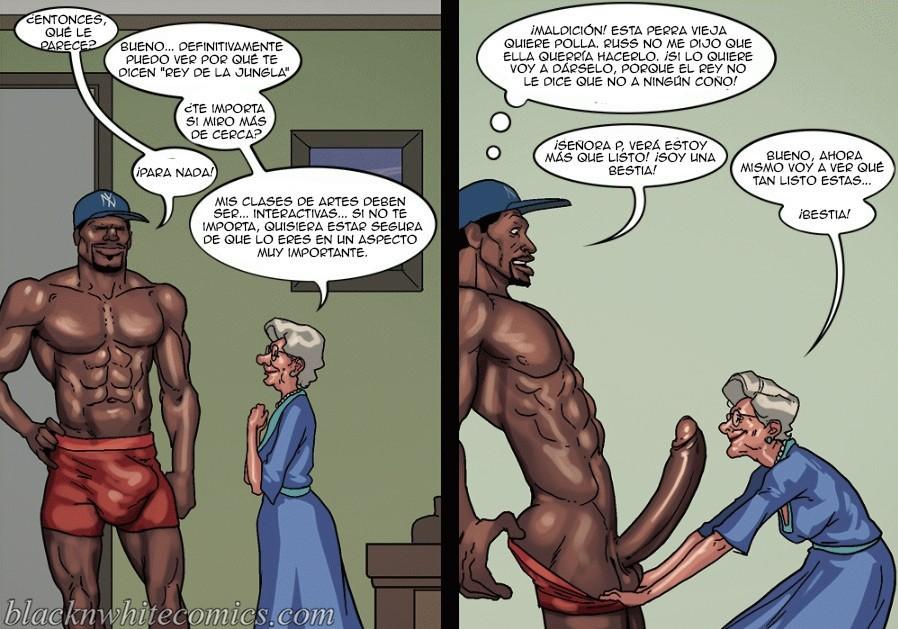 Interracial negro gigolo follando putas