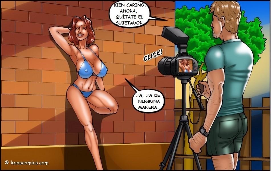 La esposa infiel y el jardinero moreno follando Part 2