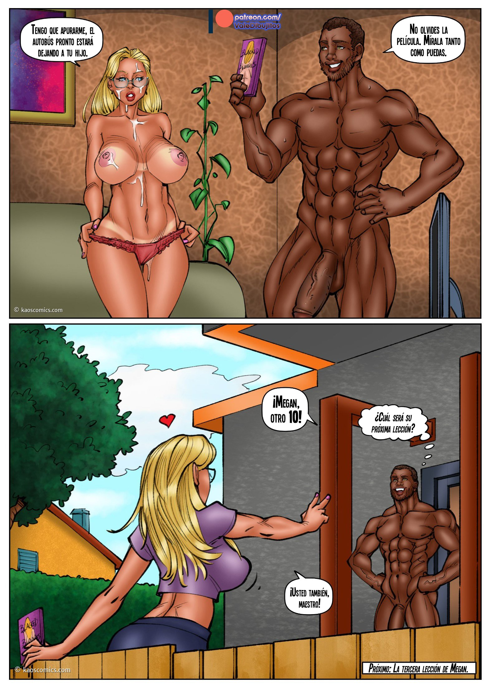 Black Porn Hentai comic interracial