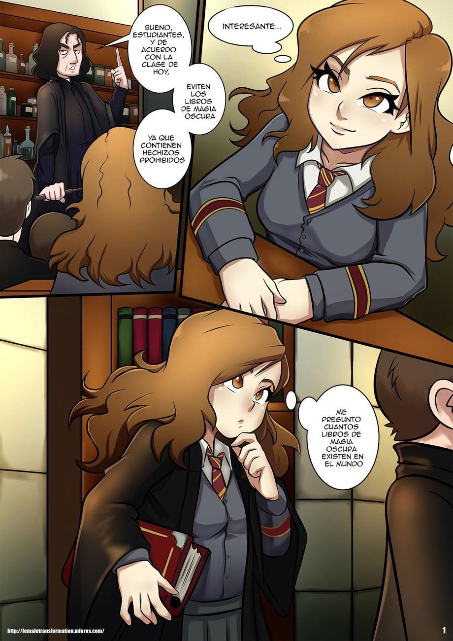 Hermione porno Comics