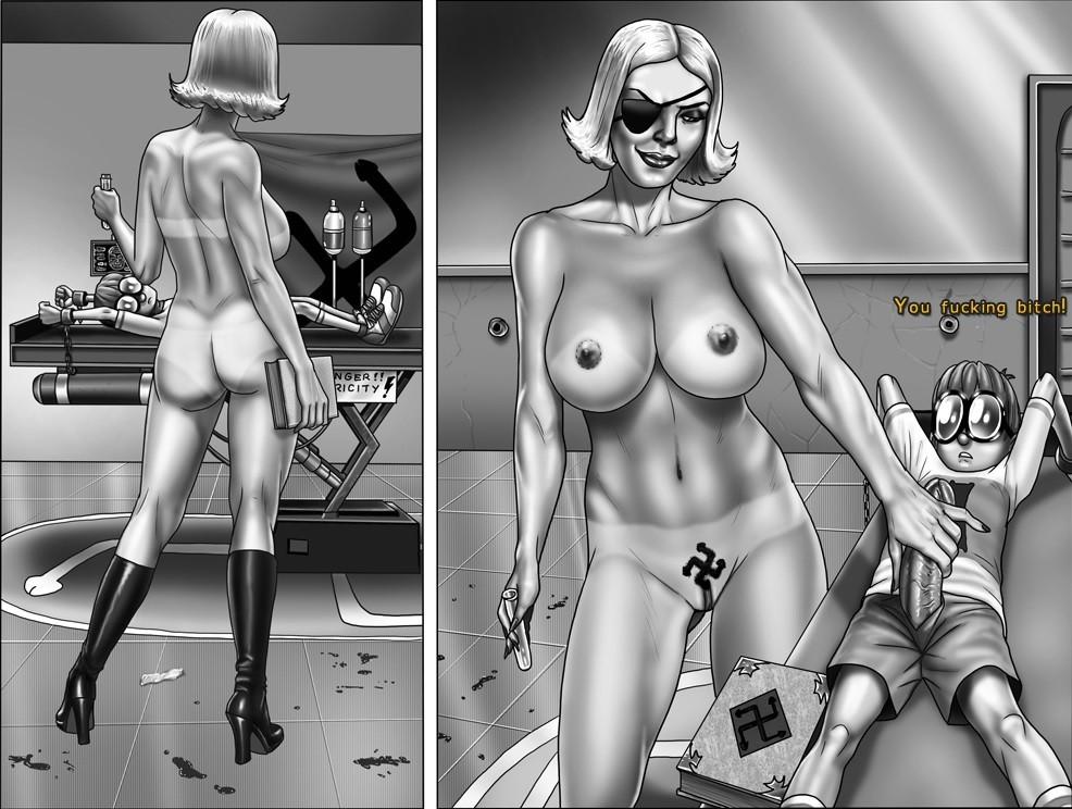Nazi porno Comics