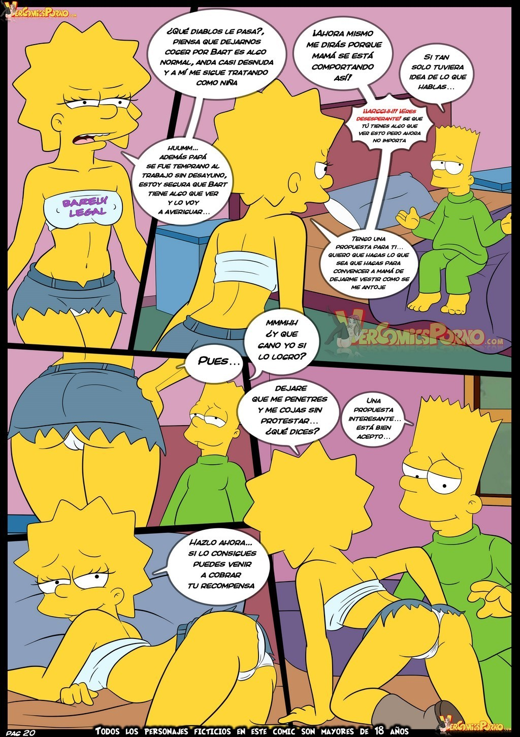 Marge simpson Porno-Karikaturen