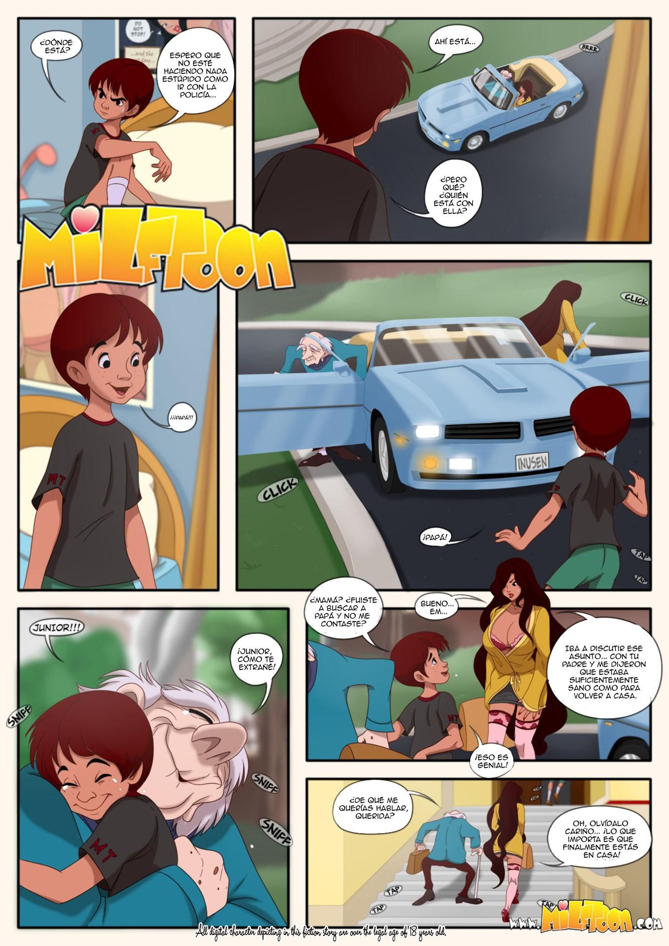 Milftoon fumetti porno