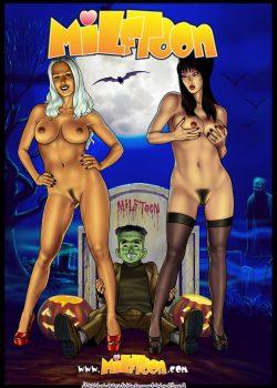 Incesto Milftoon Madre e Hijo Follando en Halloween