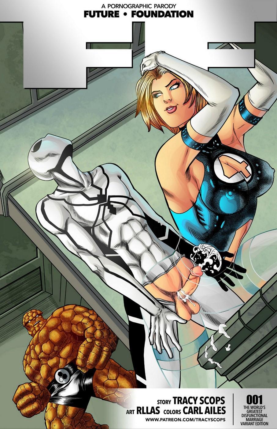 super héros Cartoon Sex
