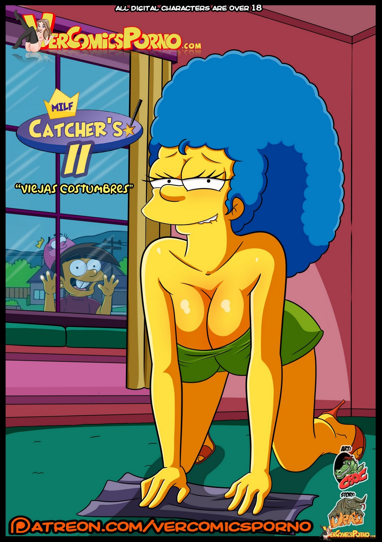 Los Simpsons Porno Milfs Catcher's 2