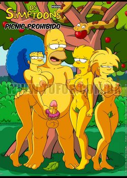 The Simpsons xxx Incesto al aire libre