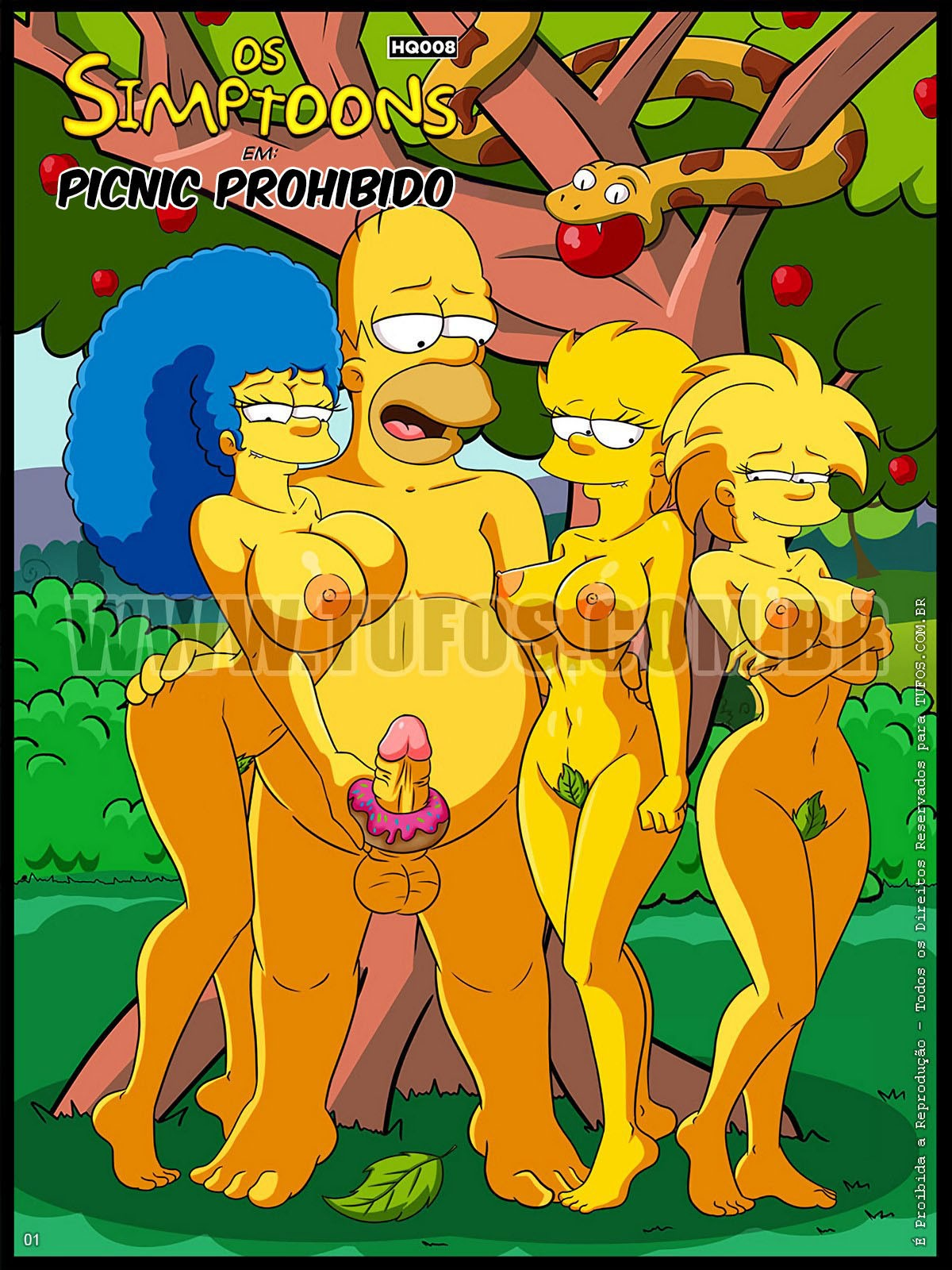 porno los simpsons xxx comic en español