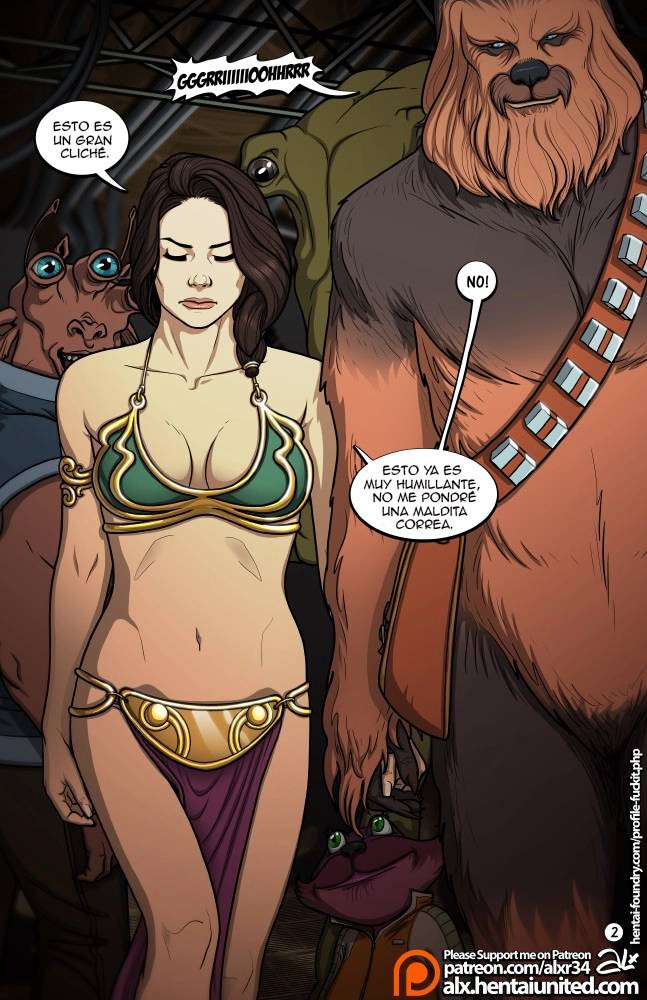 Free star wars sex comics