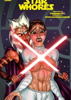 Star Whores xxx Futanari Comic