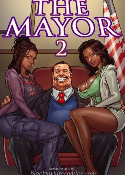 "Comic interracial ""El Alcalde 2"" The Mayor 2"