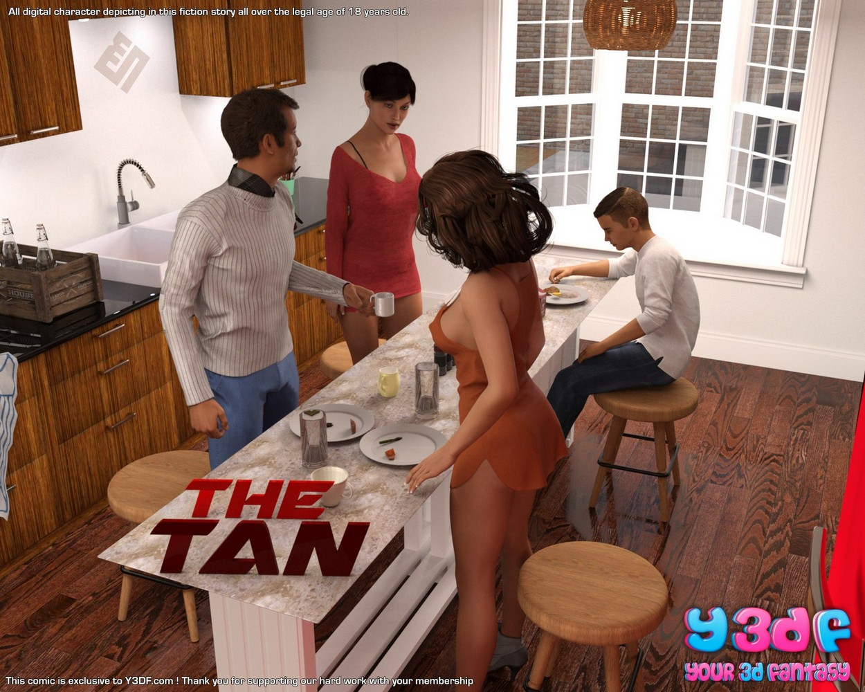 Comics Porno 3D Y3DF The Tan